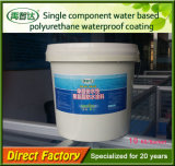 De enige Deklaag van het Polyurethaan van de Component Bitumineuze Waterdicht makende