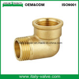 Cotovelo fêmea de bronze da boa qualidade do ODM de OEM& (AV9009)