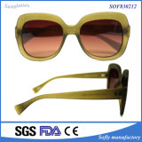 Spätestes Fashion Plastic Women Sunglasses für Promotion