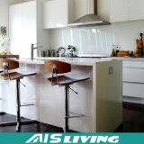 높은 광택 UV 부엌 찬장은을%s 가진 지원을 주문 설계한다 (AIS-K978)