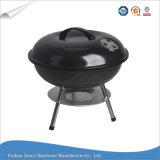 Gril de BBQ de charbon de bois de bouilloire de 14 pouces avec le barbecue extérieur de plaque de cendre
