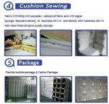 Sofà moderno del rattan del PE del blocco per grafici di alluminio moderno impostato (S0067)