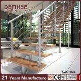 Residencial Inox Barandilla Escalera flotante Diseño (DMS-7008)