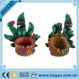 OEM het Creatieve Asbakje van Bladeren Polyresin voor het Roken
