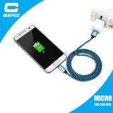 Cavo Braided del USB del micro del nylon rovesciabile