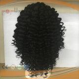 Parrucca piena del merletto di colore scuro dei capelli umani del grado superiore riccio profondo per le donne di colore