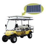 Chariot de golf de chasse avec le panneau solaire (DEL2042D2Z, 4+2seat)