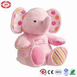 Gift van het Stuk speelgoed van de Olifant van de Pluche van de Baby van de kwaliteit de Buitensporige Zachte Gevulde Leuke