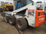 Sweeper를 가진 사용된 Bobcat Skid Steer Loader
