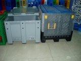 caixa plástica do equipamento da carga do armazenamento do recipiente da pálete 1200X1000
