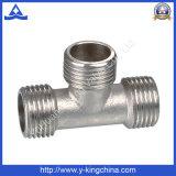 Nickel überzogene männliche Nippel-Stück-Messingbefestigung (YD-6034)