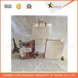 環境に優しい工場は熱い販売のクラフト紙袋をカスタム設計する