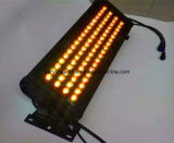 Luz de inundação ao ar livre impermeável ao ar livre do diodo emissor de luz do diodo emissor de luz de 72*3W RGB