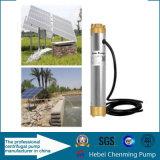 Elektrischer Strom und Solarkraftstoff-tiefe wohle Pumpen