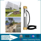 Energia eléctrica e bombas boas profundas do combustível solar