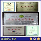 염화 나트륨 또는 바다 소금 또는 산업 소금