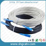 Sc FC LC St MTRJ fibra óptica Patch Cord Cables