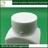 PE Square Bottle 110ml Pharmaceutical Bottle con Pilfer Proof Cap