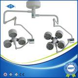 Lampada chirurgica di vendita calda di funzionamento delle attrezzature mediche LED (YD02-LED5+5)