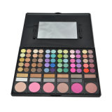 74 cores Eyeshadow Lipgloss, Blush e Bronzer Color Makeup