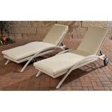 Outdoor Beach / Pool Rattan Chaise Lounge (CL-1013)