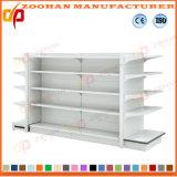 Qualitäts-doppeltes Seiten-Supermarkt-Bildschirmanzeige-Regal (ZHs634)
