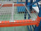 O pó revestido ou galvanizou o Decking resistente do engranzamento de fio do armazém