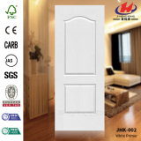 Белая кожа двери праймера HDF (JHK-003)