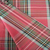 衣服のワイシャツまたは服Rls60-6poのための綿ポプリンの編まれたヤーンによって染められるファブリック