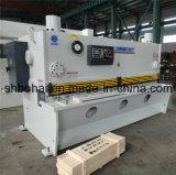 Máquina de Bohai Marca CNC guillotina hidráulica Cizalla