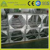 Kundenspezifischer silbriger Aluminiumschraubbolzen-Binder für Hochzeitsfest