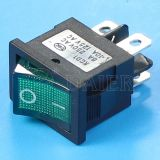 2 Pole 4pin Rocker Switch T125 5e4 mit LED