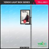 La publicité du cadre léger de Pôle d'Afficheur LED de lampe en aluminium de stand