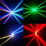80W luz principal movente do feixe do diodo emissor de luz do CREE RGBW