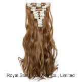 La testa completa 12PCS imposta la clip di capelli ricci nell'estensione dei capelli