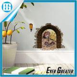 De Sticker van de Muur van de Vlinder van de Vangst van de Katten van het Behang van de Muurschildering van de Overdrukplaatjes van de kunst