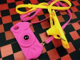 iPhone6のための新しい3D Camera Shaped Belt Silicone Case