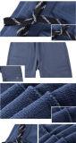 Calças ocasionais do algodão quente do velo do desgaste da roupa do Mens da forma da venda