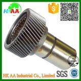 Изготовленный на заказ шестерня главного привода вала входного сигнала передачи тележки точности подвергли механической обработке CNC, котор стальная для автомобильного с аттестацией Ts16949