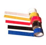 Nastro bollato PVC d'isolamento elettrico dell'adesivo di gomma