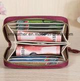 Бумажник кожи застежки -молнии портмона женщин Multy-Цвета