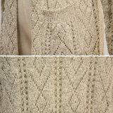 Maglione del cardigan di caduta della casella del V-Collo delle donne