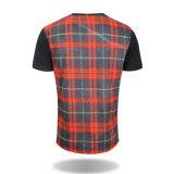 T-shirts 100% ordinaires faits sur commande de coton de T-shirt de polo