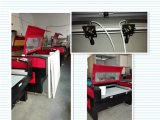 Hochleistungs--Laser-Ausschnitt-Maschine für Textilindustrie