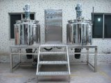 Misturador de emulsão do vácuo quente do aço inoxidável da venda