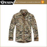 Calidad superior tácticos Hombre Escudo impermeable Caza acampar al aire libre Deportes Militar Chaquetas Cp