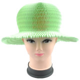 Dame-Form-Hut kopiert faltbare aufbereitete Strand-Stroh-Ebenesombrero-Hüte