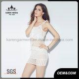 Katoenen van 100% Dames breiden de Sexy Strakke Rok van het Netwerk
