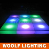 Partido RGB LED Dance Floor de la barra de Woolf KTV