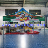 부류 Tent 또는 Bracket Pink 옥스포드 Cloth Advertizing Folding Tent